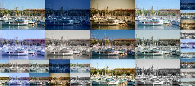 10 Variations d'une image RAW dans CameraRaw