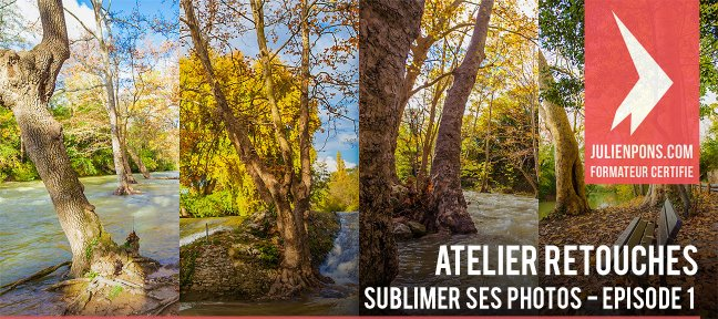 Atelier de retouche : sublimer ses photos
