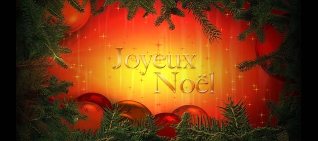 Tuto Habillage de Noël After Effects