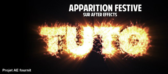 Tuto Effet de texte en particules After Effects