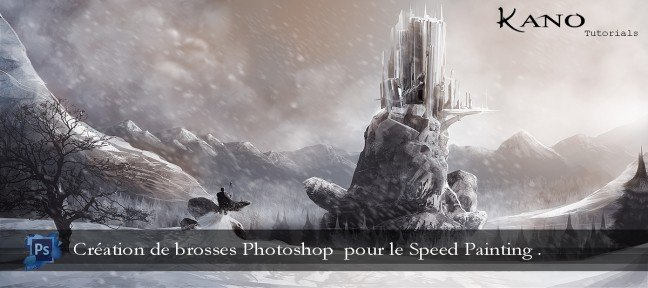 Création de brosses Photoshop et d'un Speed painting