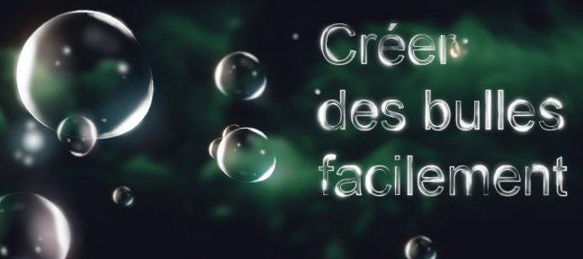 Tuto cr er des bulles facilement avec photoshop cs6 sur for Creer une entreprise qui rapporte