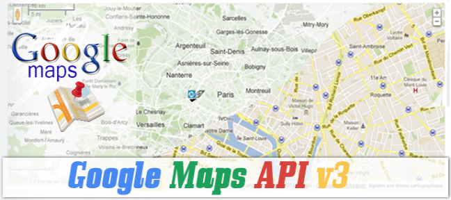 Introduction à l'API Google Maps JavaScript v3