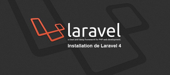 Installation de Laravel 4