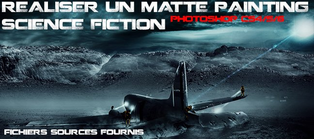 Réaliser un matte painting science fiction