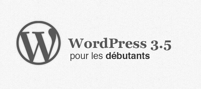 Wordpress, formation débutants