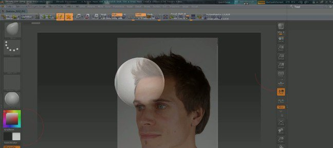 Tuto See-Trough ZBrush