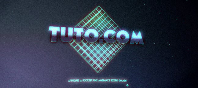 Tuto Retro Gaming After Effects
