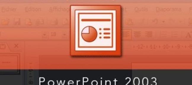 Formation PowerPoint 2003