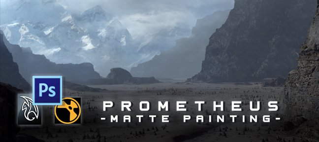 Tuto Matte Painting PROMETHEUS Photoshop