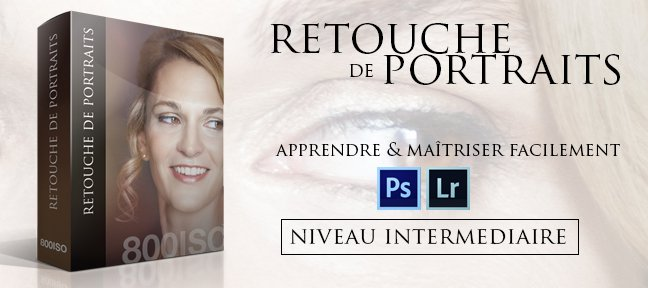 Retouche de Portraits pour photographes amateurs / experts