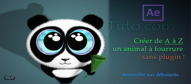 Tuto Créer un animal à fourrure dans After Effects sans plugin After Effects