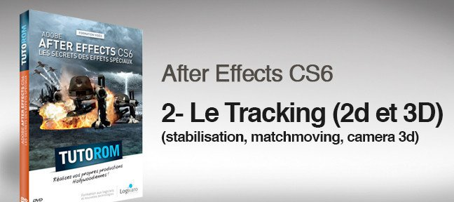 Le tracking sous After Effects CS6