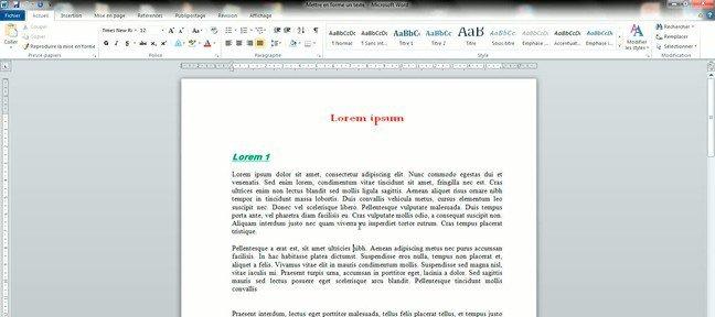 tuto encadrer du texte et mettre des bordures de page avec