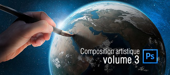 Tuto GOD'S BRUSH : Composition Photoshop Artistique Vol 3 Photoshop