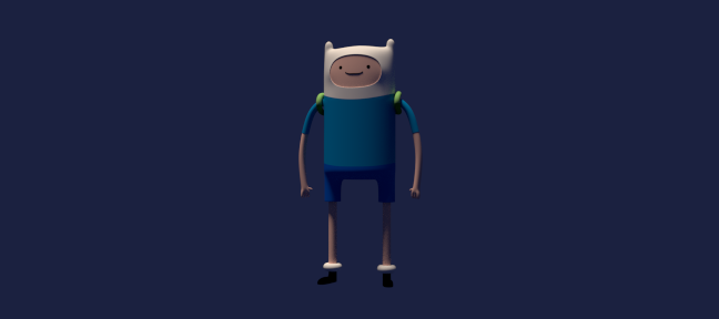 Modéliser Finn d'Adventure Time