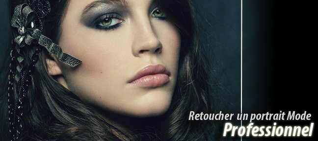 Retoucher un portrait Mode / Beauty Professionnel