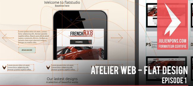 Tuto Atelier web sur le Flat Design - Episode 1 Illustrator