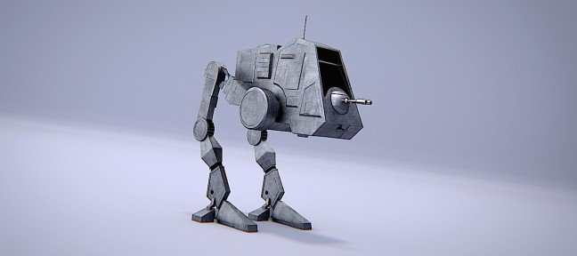 Atelier pratique Blender : AT-PT Walker