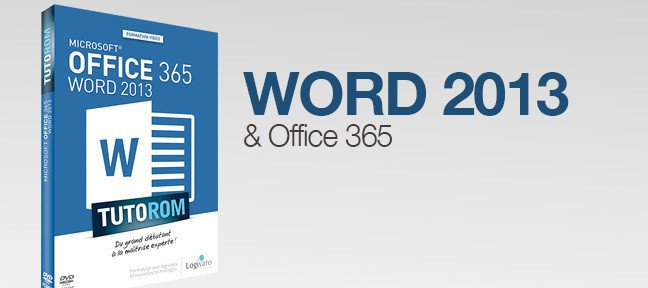 Formation Word 2013 et Office 365