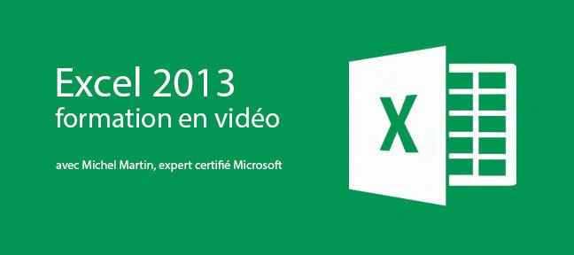 Formation Excel 2013