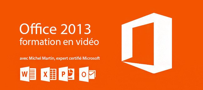 Formation Microsoft Office 2013