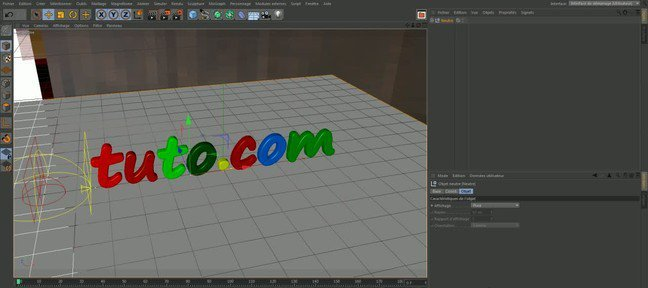 Tuto Introduction Cinema 4D