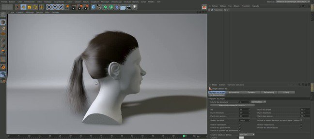 Tuto Hair (Studio uniquement) Cinema 4D