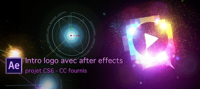 Logo d'introduction avec After Effects
