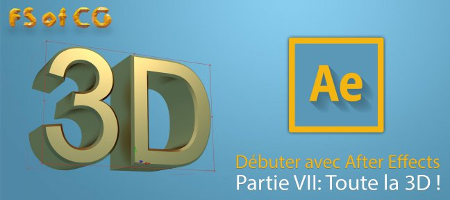 Débuter avec After Effects partie VII
