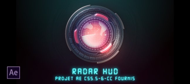 Tuto Radar HUD After Effects