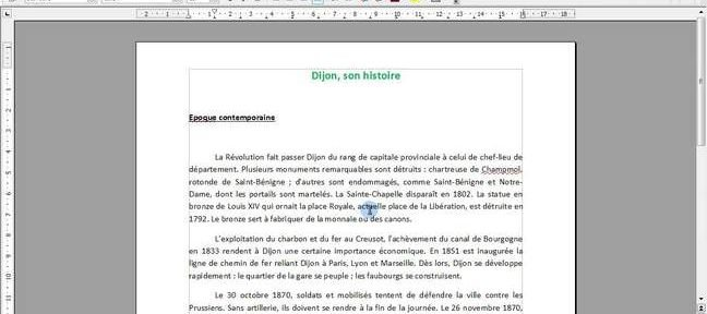 Tuto Insérer une image sous Writer 3 (Open Office) Writer