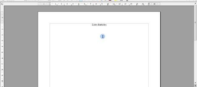 Tuto cr er un tableau sous writer 3 open office avec - Comment ouvrir un fichier docx avec open office ...