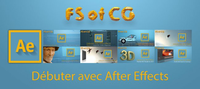 Tuto Tuto After Effects : tout pour débuter After Effects
