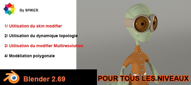 Tuto Blender : Sculpter un personnage de fiction Blender