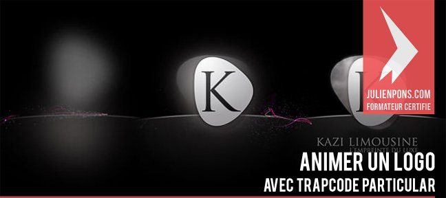 Tuto Animer un logo avec particular After Effects