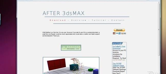 Tuto 3D Studio max vers After effects 3ds Max