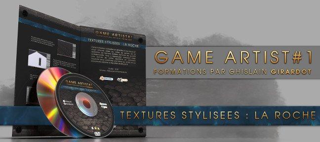 TUTO Textures rocheuses stylisées pour le jeu-vidéo avec Blender 2.6 sur Tuto.com