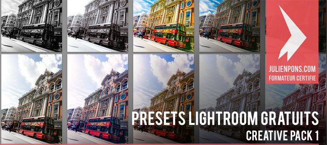 Tuto Presets Lightroom 5 - Creative Pack 1 Lightroom