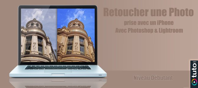 Retoucher une photo prise avec un iPhone