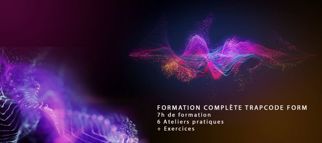Formation complète Trapcode Form