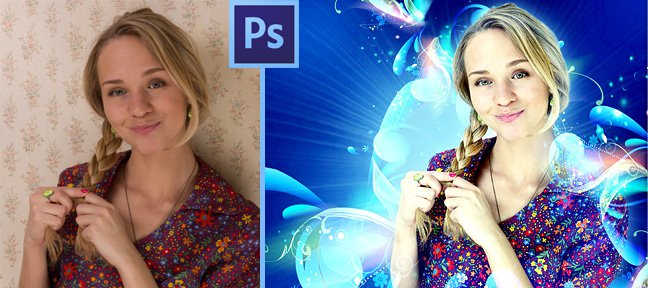 Tuto Photomontage : portrait créatif Photoshop