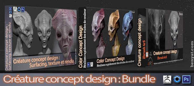 Bundle : créature concept design