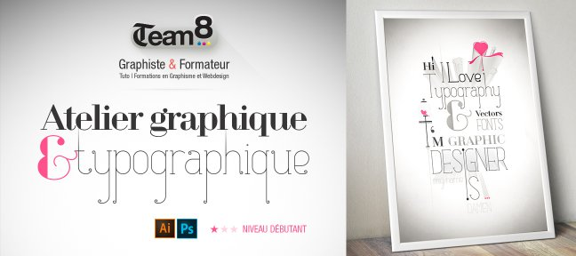 Tuto Atelier typographique avec Illustrator et Photoshop Illustrator