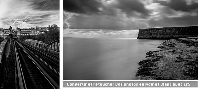 Tuto Convertir et retoucher vos photos en Noir et Blanc Lightroom