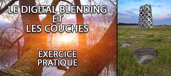 Tuto Digital blending et les couches : exercices pratiques Photoshop