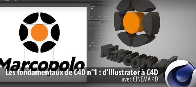 Passer de Illustrator à Cinema 4D