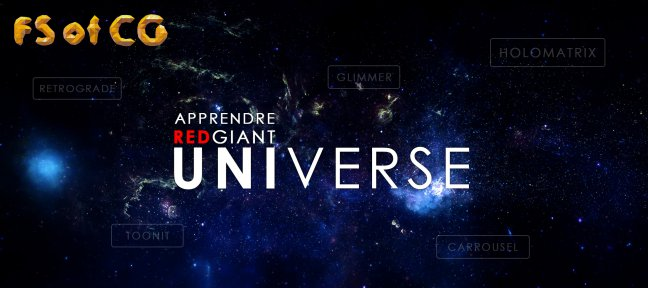 Apprendre Red Giant Universe