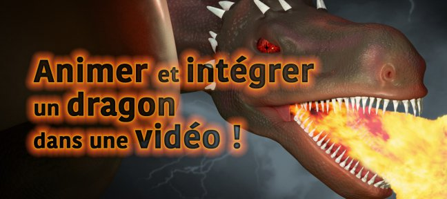 Blender : animation et compositing d'un dragon