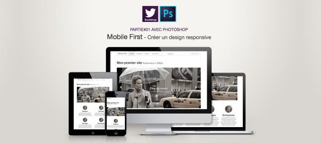 Tuto Formation Photoshop Webdesign Mobile First Photoshop